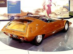 Nissan?  cool old concept