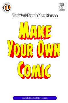 Provided are nine pages in PDF format each is a blank comic pages with only the panel boxes provided. Now you can create your own comic book. Create Your Own Comic, Make Your Own, How To Make, Comic Book Template, Comic Page, Comic Books, Pdf, Templates, Comics