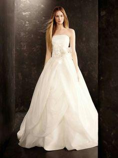c9e8d017da1d White by Vera Wang Wedding Dress Organza, Gown Wedding, Bridal Gowns,  Organza Dress