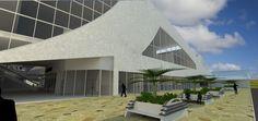 Mall. By Carlos Caro Architecture.