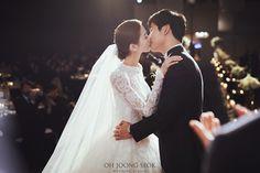 김경단 신부님  결혼을 진심으로 축하드립니다  Photographed by Oh Joong Seok Wedding Studio
