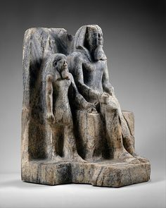 King Sahure and a Nome God Period: Old Kingdom Dynasty: Dynasty 5 Reign: reign of Sahure Date: ca. 2458–2446 B.C. Geography: From Egypt