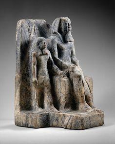 King Sahure and a Nome God