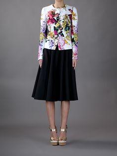 ROBERTO CAVALLI - floral jacket 7