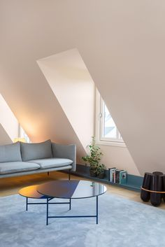 Stockholm-based firm Note Design Studio, better known for its furniture and homeware design, has recently refurbished this 1930s loft apartment in Sweden.