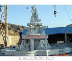 Large Outdoor Water Fountain in Gargen,Cl-Con002,Figure Statues ...