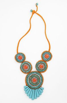 Panacea 'Tribal Circles' Bib Necklace available at #Nordstrom statement necklace