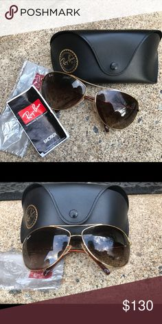 956144c15832 Rayban aviators 100% authentic rayban aviators Mint condition Ray-Ban Accessories  Sunglasses Summer Ray