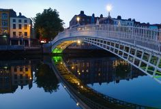Dublin, capital of Ireland, is at the mouth of the River Liffey. Its historic buildings include Dublin Castle, dating to the century, and imposing St Patri Ireland Pictures, Images Of Ireland, Belfast, Phoenix Park, Oh The Places You'll Go, Places To Visit, World Wallpaper, Hd Wallpaper, Destinations