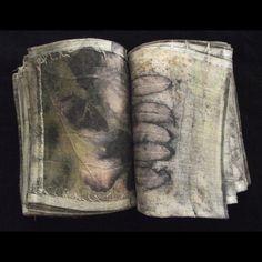 Jane Marie - Art - 2013 - Jane Marie, a Nebraska artist, creates textile art inspired by nature. Textiles, Dark Fairytale, Grunge, Forest Fairy, Monochrom, Handmade Books, The Villain, Book Making, Altered Books