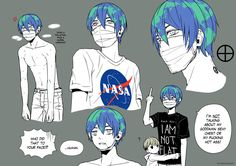 Artists Have Given Earth-chan a Friend: Moon-chan