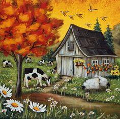 Celebrate Each New Day: Photo Sailboat Painting, Easy Canvas Painting, Dot Art Painting, Stone Painting, House Painting, Watercolor Paintings, Canvas Art, Thomas Kinkade Art, Sheep Illustration