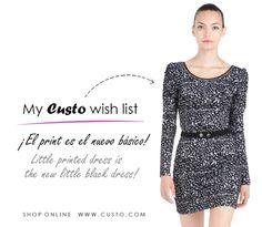 ¿Buscando el vestido perfecto para la ocasión perfecta? Looking for the perfect dress for the perfect occasion?   ¡Aquí los tienes! / Here you have! > www.custo.com