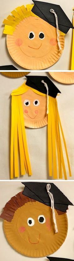 Adorable preschool or kindergarten graduation craft