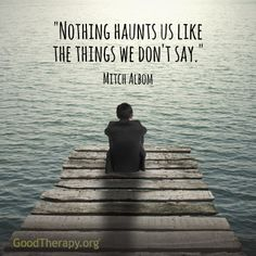 A wonderful reminder from the author of Tuesdays With Morrie, Mitch Albom