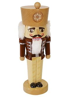 German nutcracker natural height 30 cm  12 inch original Erzgebirge by Richard Glaesser Seiffen *** This is an Amazon Affiliate link. Be sure to check out this awesome product.
