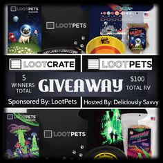 Enter for your chance to #win the #LootCrate #LootPets #Giveaway - 5 winners will be chosen! Ends at 9am EST on March 16.
