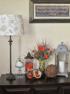Decorated Chaos: Fall decor-Using AND Loving What You Already Have.