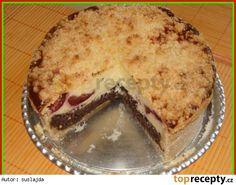 Makovo-tvarohovo-švestkový koláč Pie, Desserts, Torte, Postres, Tart, Fruit Cakes, Deserts, Pies, Dessert