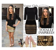 """""""Mila Kunis"""" by allanasol ❤ liked on Polyvore featuring Oasis, Charlotte Olympia and Christian Louboutin"""