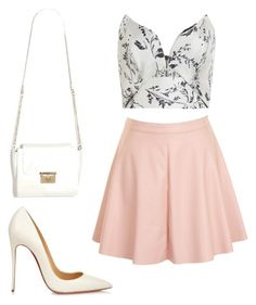 """Ariana Grande inspired summer outfit."" by mariemgaye on Polyvore"