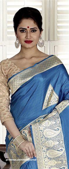 Handwoven Banarasi from Indiansilkhouse.com