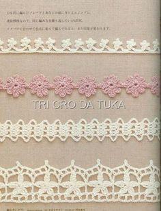 Tirinhas Crochet