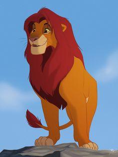 Simba Fanart by ritwells on DeviantArt Kiara Lion King, Roi Lion Simba, The Lion King 1994, Lion King Fan Art, Lion King Simba, Le Roi Lion Disney, Simba Disney, Disney Lion King, Disney Art