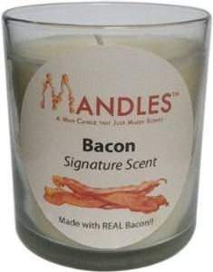 Mandles  Man Candles  Bacon Candle Coffee by ReclamationCandleCo