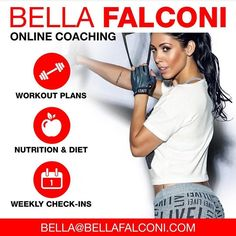Hey guys! I'd like to thank every one of you who's now part of #getfitwithbella program and also to remind new members that it takes about 48-72 hours for us to create your eating and training program because our service is individualized. Emails are replied during week days and if you haven't received an answer please check your spam box. Some websites sell programs that are all the same and made by a robot. Ours is done for each individual based on their body type age goals fitness level…