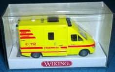 "321 02 30 Wiking FW Modell ""RTW Mercedes Benz Sprinter"" TOPZUSTAND in OVP"