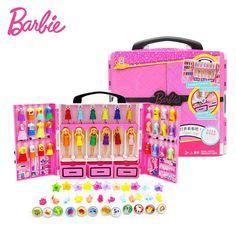 Original Barbie Doll Mini Barbie Closet Birthday Series Barbie Doll with Clothes Accessories 6pcs Dolls Playset Toys goamiroo store