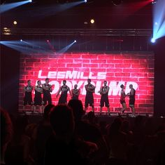 BodyPump 100 crew at Les Mills Live Paris