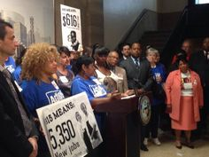 """An ordinance to establish a $15 minimum wage in Chicago was introduced in City Council Wednesday, May 28.  The ordinance, sponsored by Ald. Roderick Sawyer, Ald. John Arena and Ald. Joe Moreno, would allow a one-year """"phase-in"""" period for large corporations with profits of $50 million a year or more. Small and mid-sized businesses will have about five years to increase their wages to $15 an hour."""