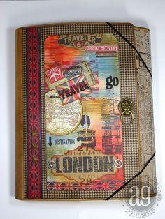 Annette's Creative Journey: Compendium of Curiosities Challenge 23 - Collection Folio