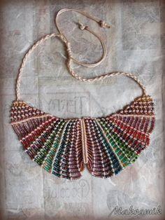 Necklace macrame