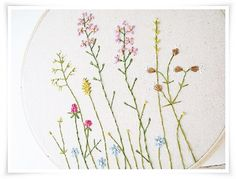 Japanese Wild Flower Garden Hand by KawaiiSakuraHandmade on Etsy