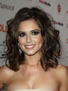 Shoulder length cuts waves curly hair   Hairstyles for Medium Wavy Hair Beautiful Features Pictures