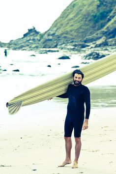 Environmentalist and Surfer, Tim Silverwood