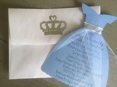 FREE SHIPPING Princess dress invitation Cinderella by FalcoClan