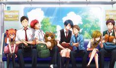 Gekkan Shoujo Nozaki-Kun | Ahq, Hori and Kashima are soo cute ❤