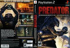 Predator Concrete Jungle Cover Download • Sony Playstation 2 Covers • The Iso Zone