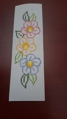 Gül's media content and analytics Cross Stitch Bookmarks, Cross Stitch Borders, Cross Stitch Flowers, Cross Stitch Designs, Cross Stitching, Cross Stitch Embroidery, Hand Embroidery, Cross Stitch Patterns, Broderie Simple