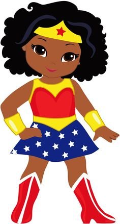 12 Wonder Woman African American Female Superhero Stickers for planners and scrapbooking- Girl, birthday, gift, favor - 12 Wonder Woman African American Female Superhero Stickers for Black Girl Cartoon, Black Girl Art, Black Girl Magic, Art Girl, Black Girls, Super Heroine, Female Superhero, Superhero Superhero, Birthday Scrapbook