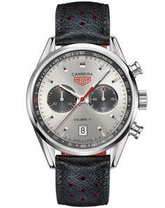 The Tag Heuer Carrera Calibre 17 Chronograph, released at Baselworld 2012.