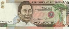 500 pesos Philippines Currency