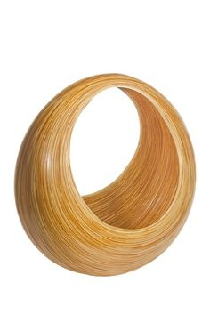 Foreign Affairs Home Decor - MAJALAH Bamboo Magazine Basket - Natural