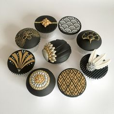 Art Deco Cupcakes | Truly Madly Sweetly Cupcakes |