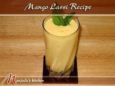 Mango Lassi - Manjula's Kitchen - Indian Vegetarian Recipes