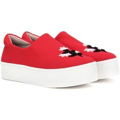 280af0d69b30 Opening Ceremony Cici Platform Slip-on Sneakers ( 335) ❤ liked on Polyvore  featuring